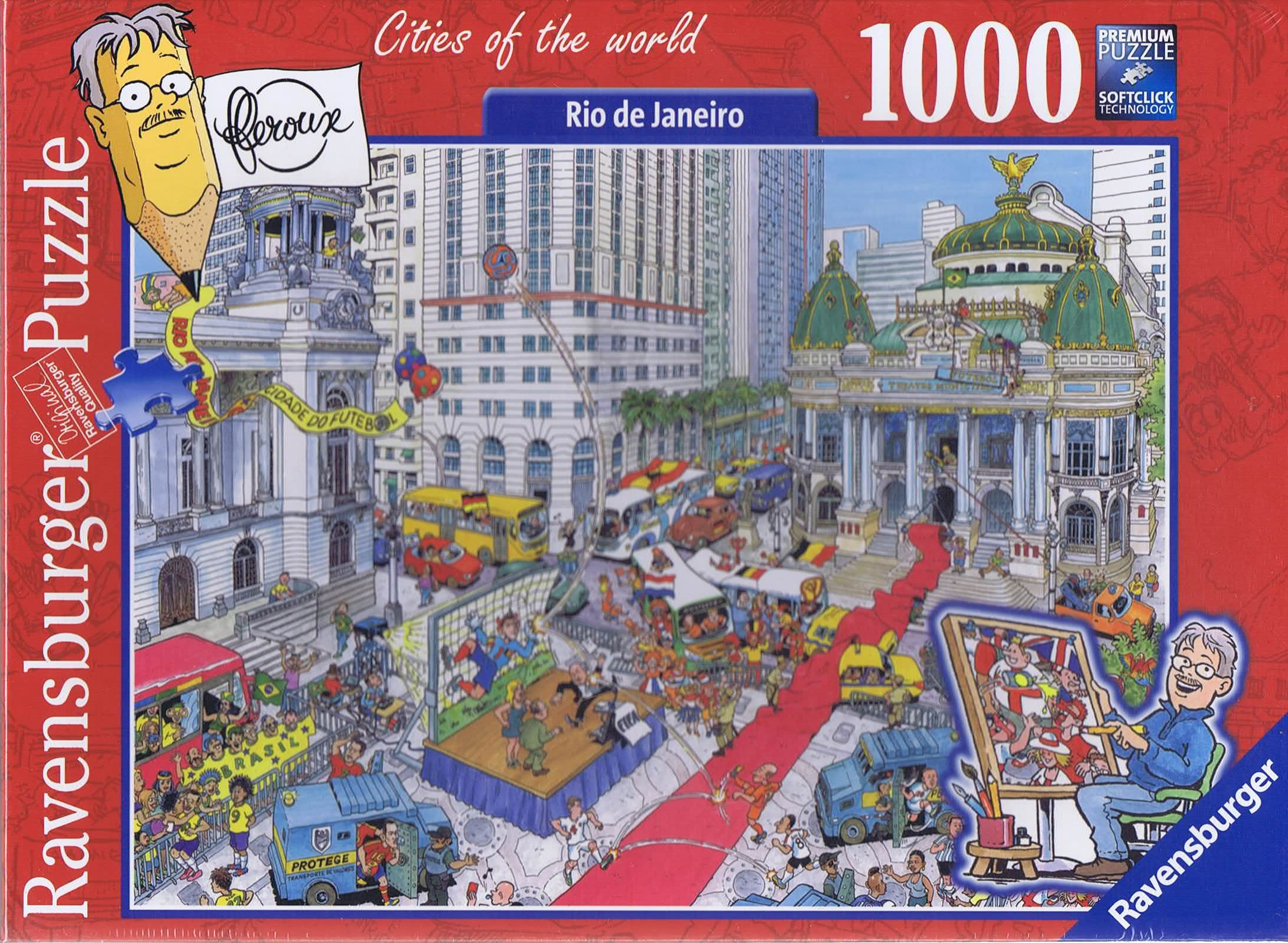 Image of   Rio de Janeiro, 1000 brikker