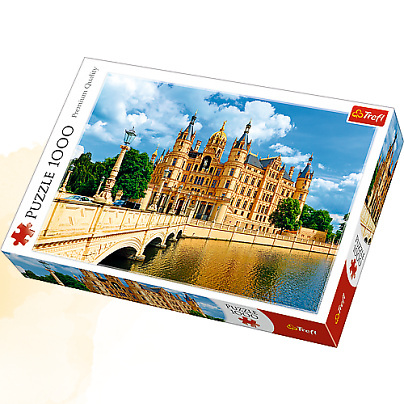 Image of   Schwerin Palace - 1000 brikker