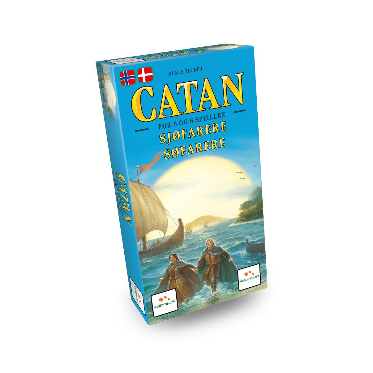Image of   Settlers fra Catan - Søfarer 5-6 spillere