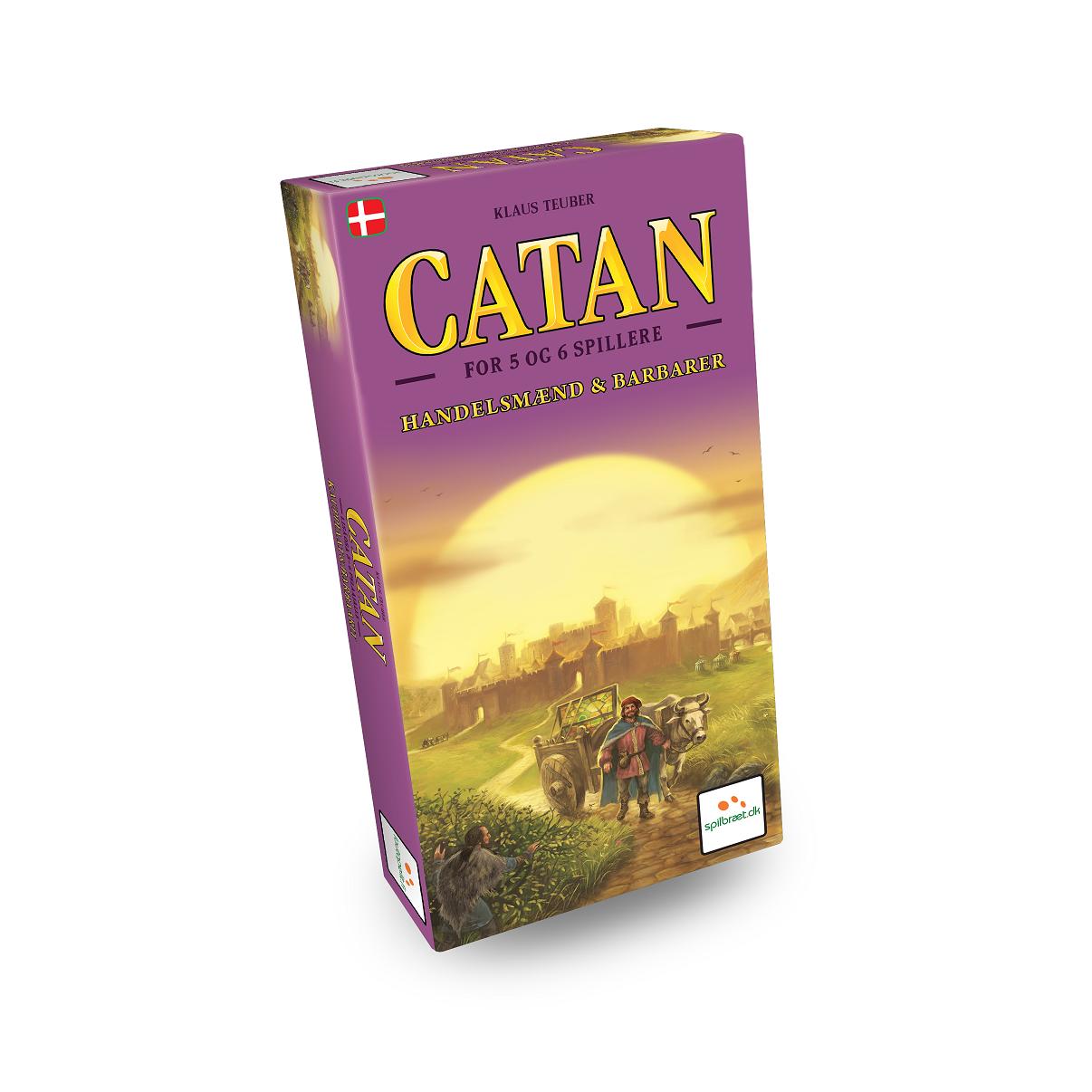 Image of   Settlers fra Catan - Handelsmænd og barbarer 5-6 spillere