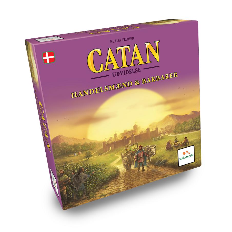 Image of   Settlers fra Catan - Handelsmænd og Barbarer