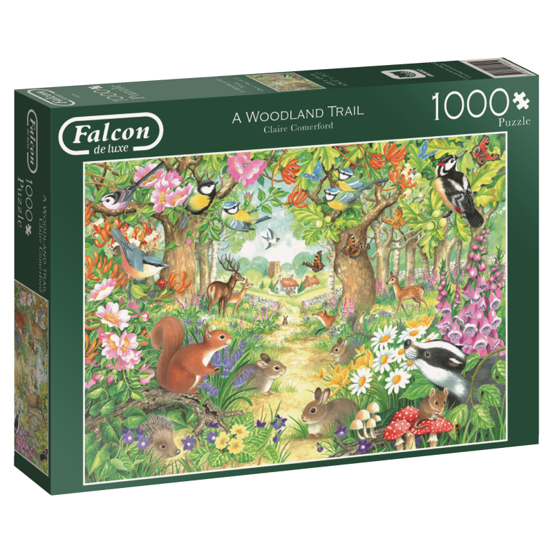 Image of A Woodland Trail, 1000 brikker