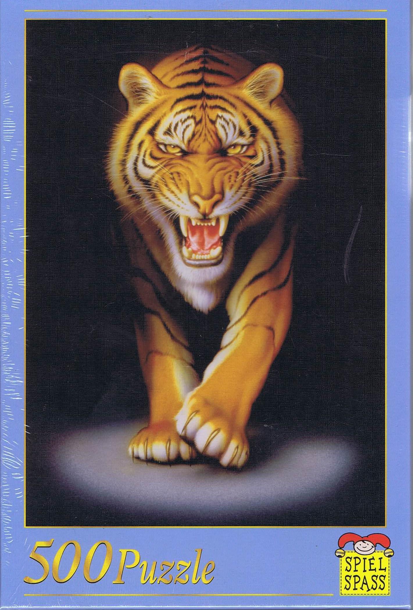 Image of   Pirschender Tiger, 500 brikker