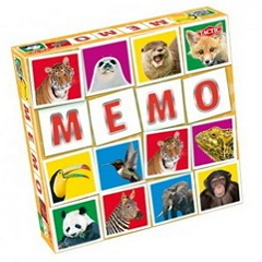 Memo Wild Animals