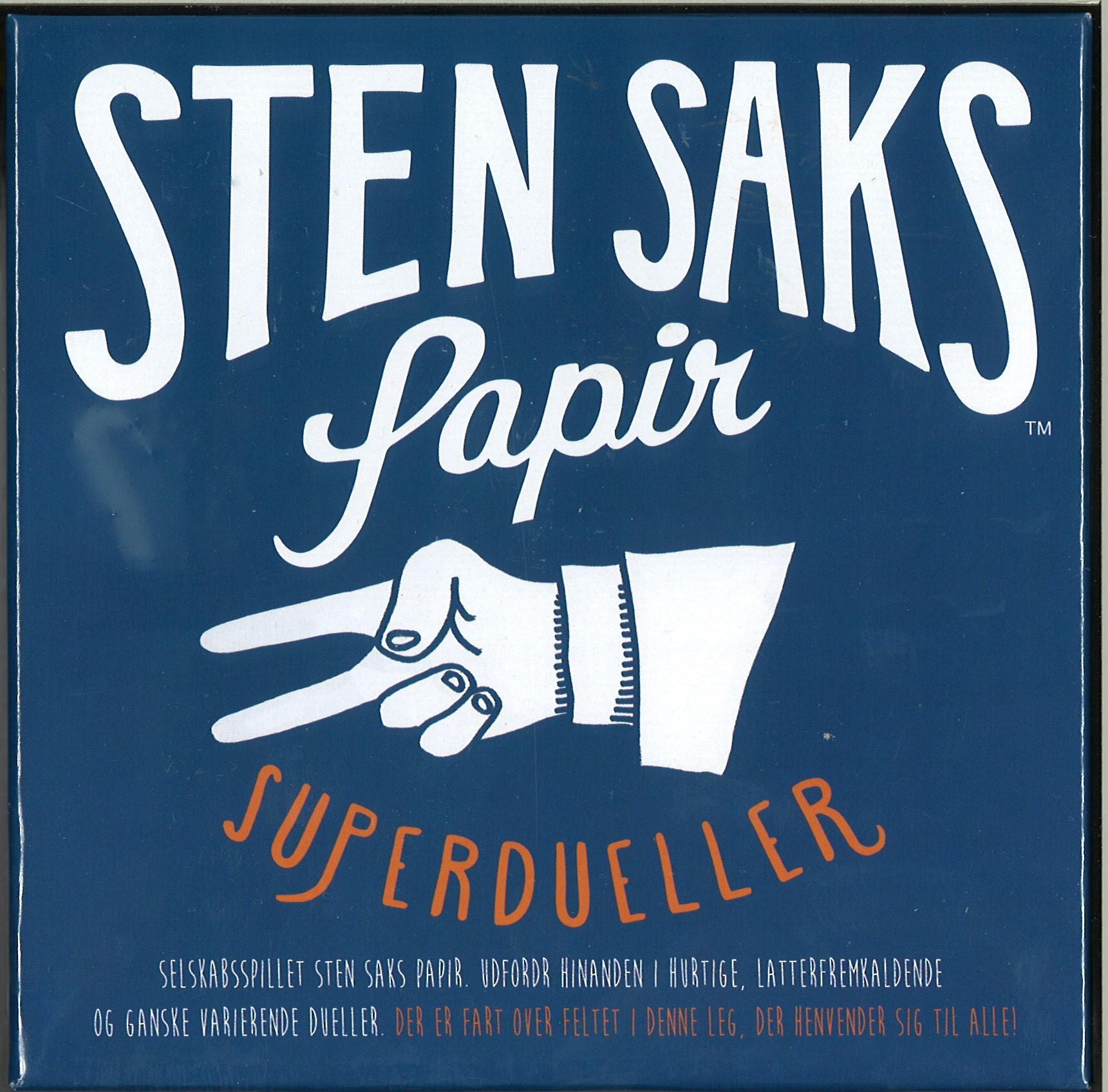 Image of   Sten, Saks, Papir