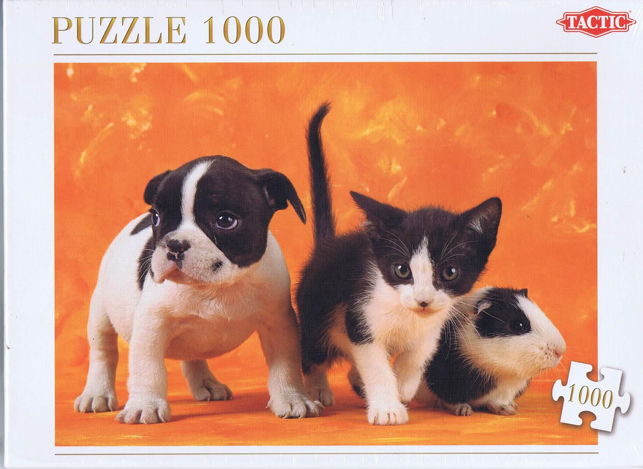 Image of   Animal Babies, 1000 brikker