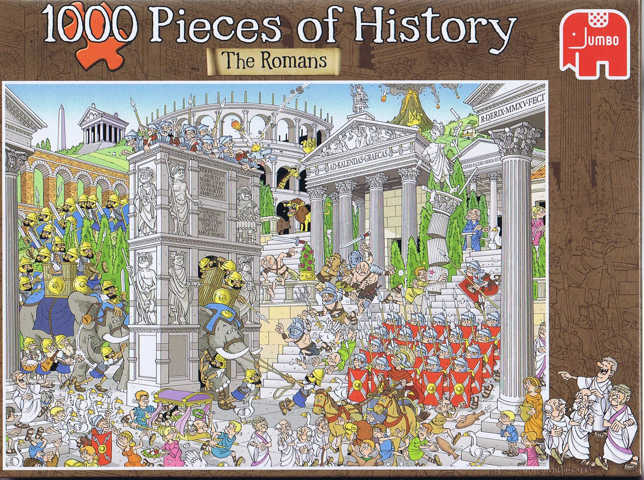 Image of   1000 Pieces of History - The Romans