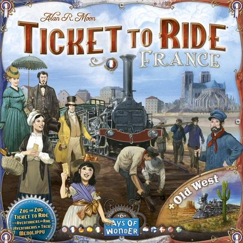 Image of   Ticket to Ride: France & The Old West - Map Collection #6