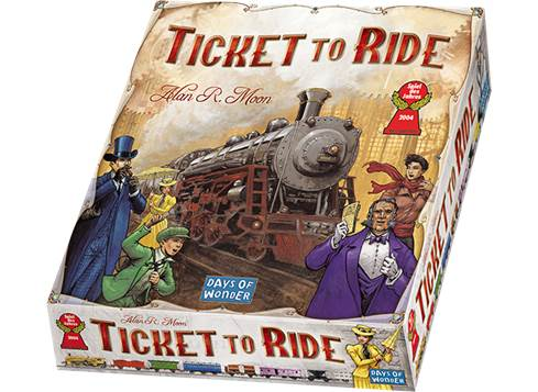 Image of   Ticket to ride USA