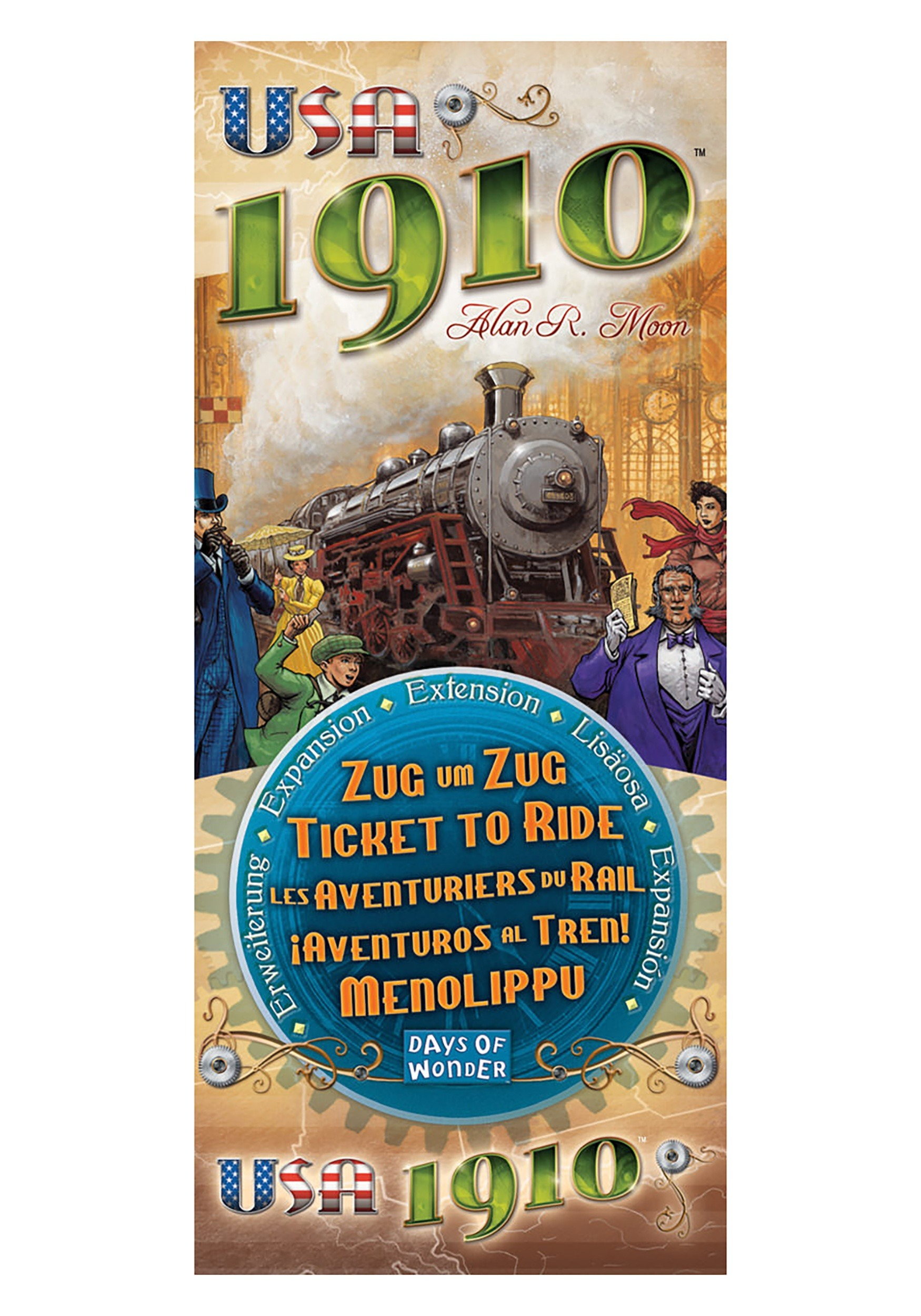 Image of   Ticket To Ride USA 1910
