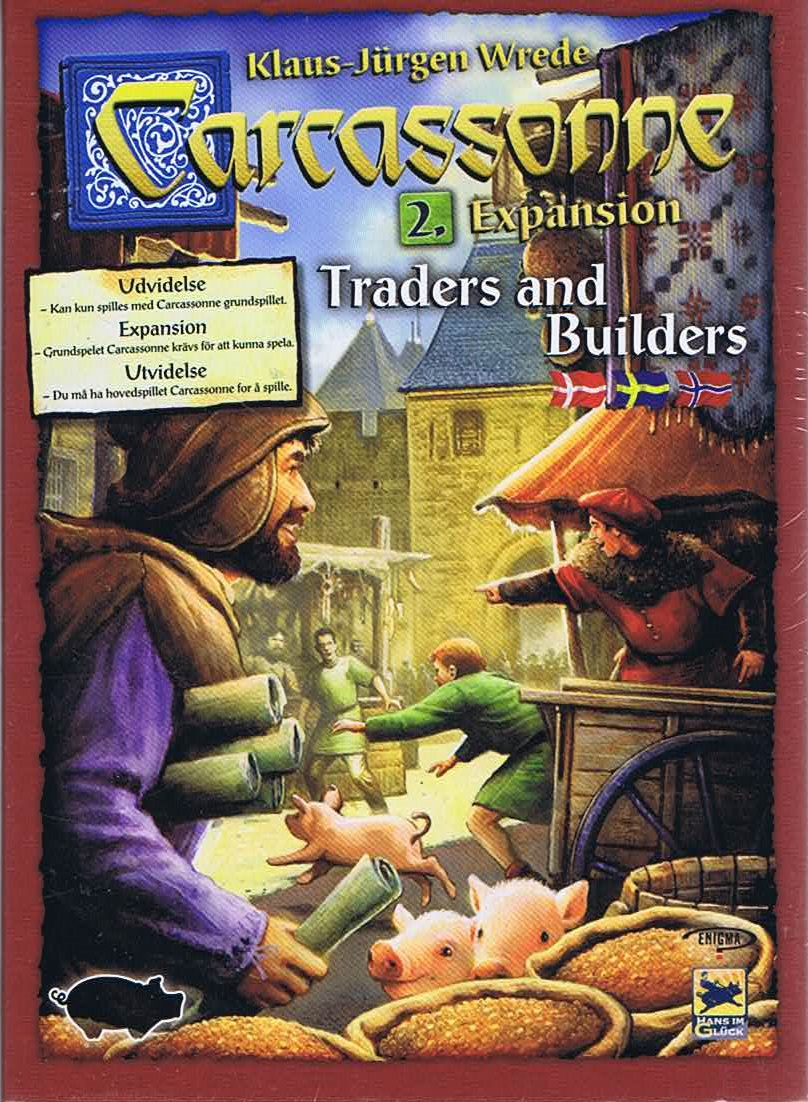 Image of   Carcassonne - Traders & Builders