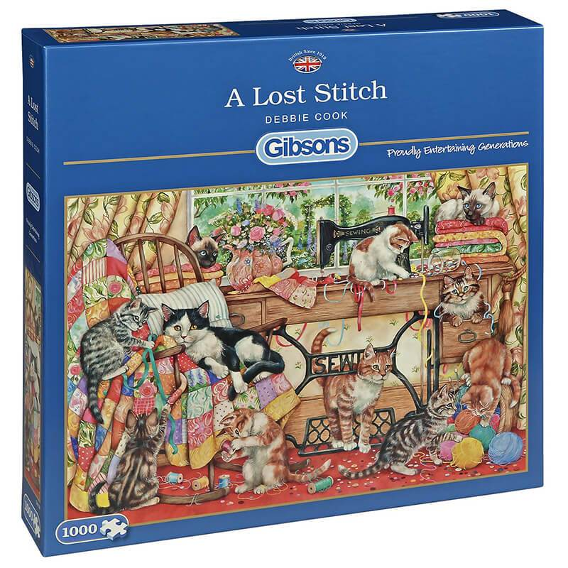 Image of A Lost Stitch , 1000 brikker