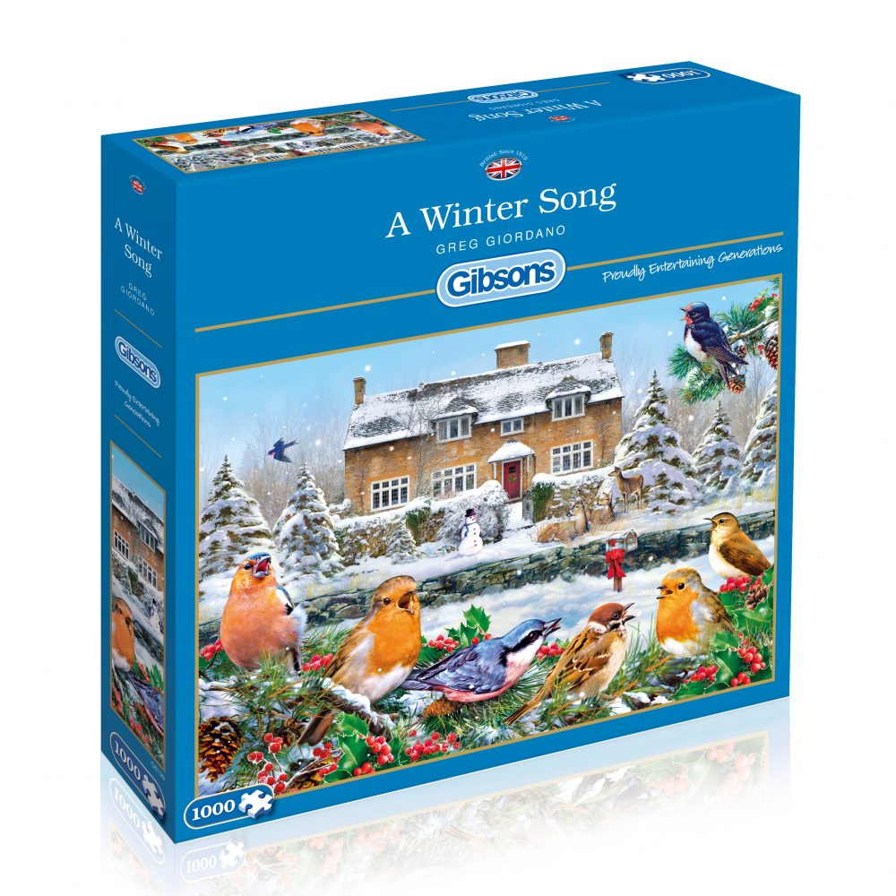 Image of   A Winter Song, 1000 brikker