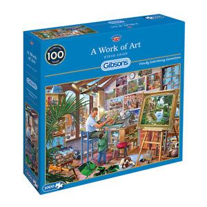 Image of   A Work of Art, 1000 brikker