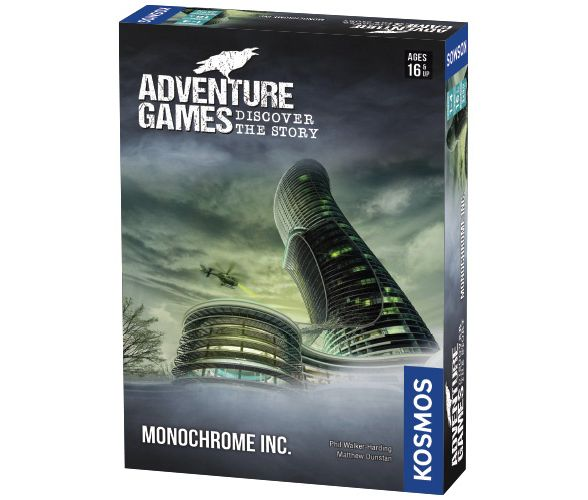 Image of   Adventure Games: Monochrome Inc.