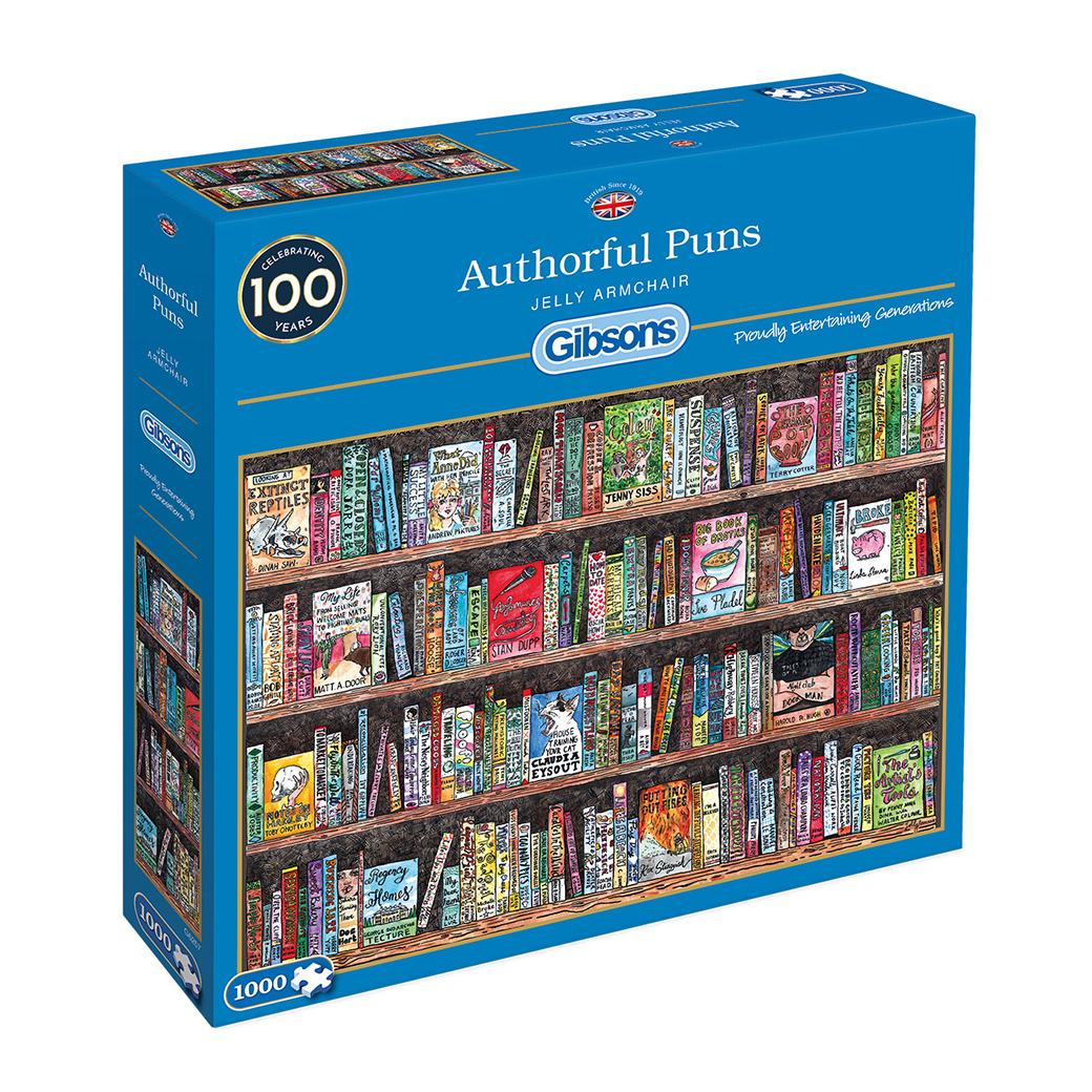 Image of   Authorful Puns, 1000 brikker