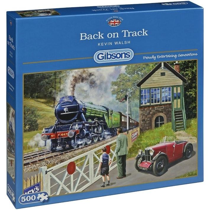 Image of   Back on Track, 500 brikker