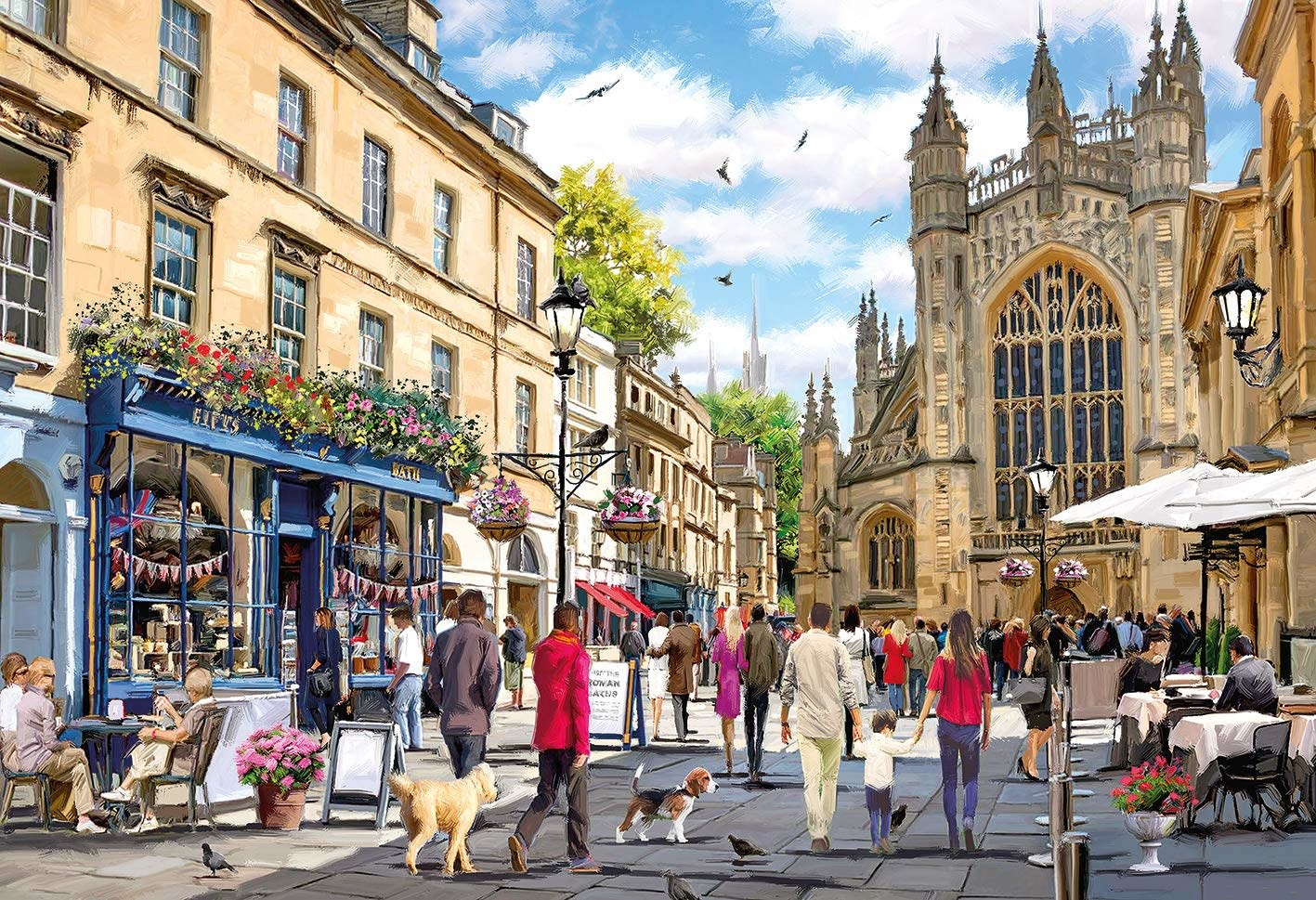 Image of   Bath, 500 brikker