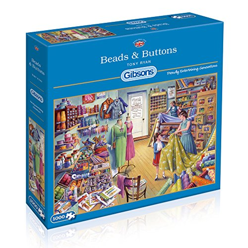 Image of   Beads & Buttons, 1000 brikker