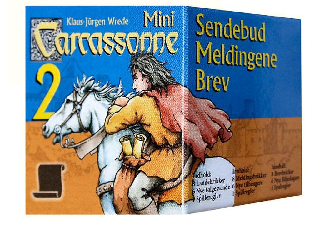Carcassonne Mini 2 - Sendebud