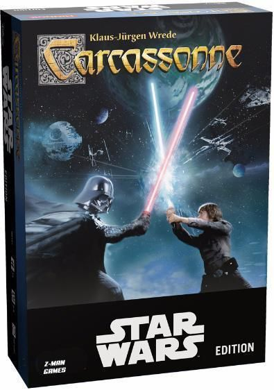 Image of   Carcassonne Star Wars - Dansk