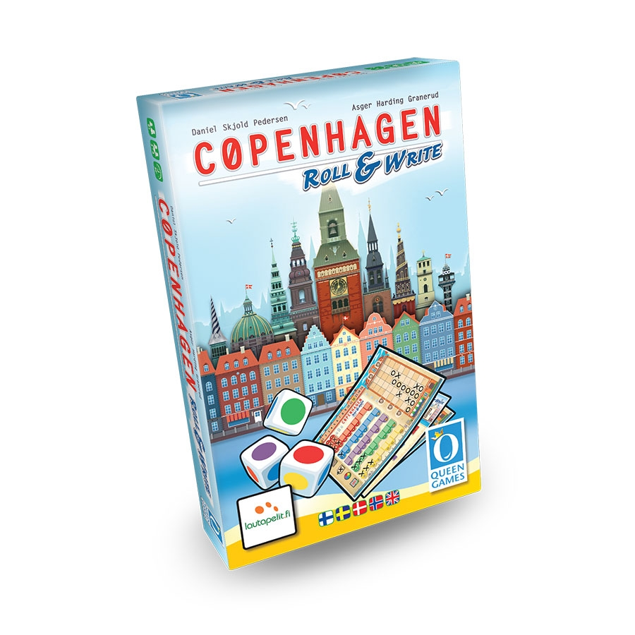 Image of   Copenhagen Roll & Write - Dansk