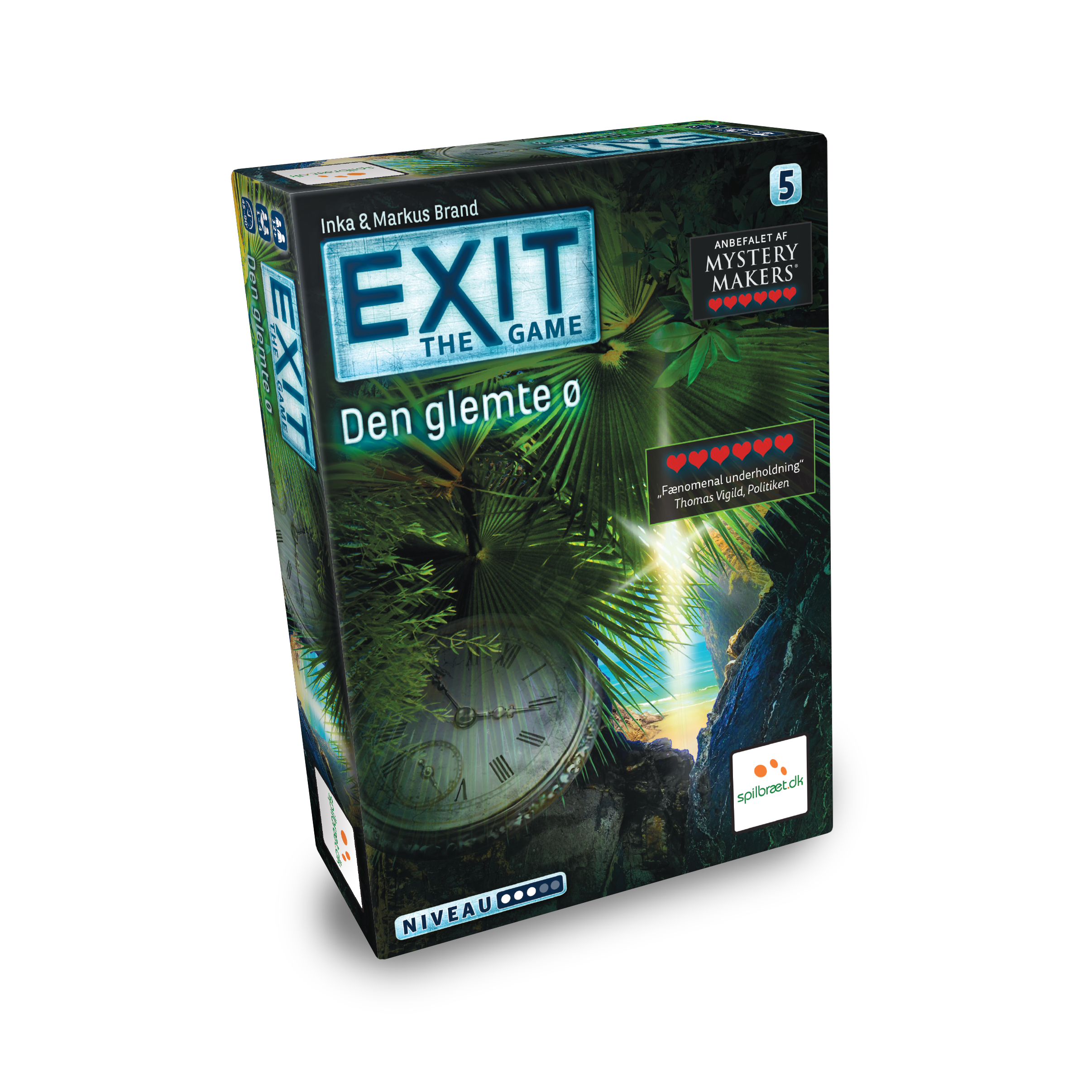 Image of   EXIT: The Game - Den Glemte Ø