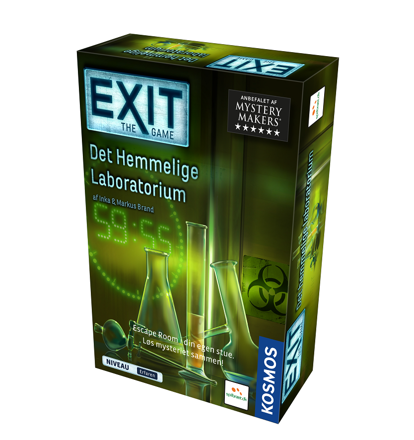 Image of   EXIT: The Game - Det Hemmelige laboratorium