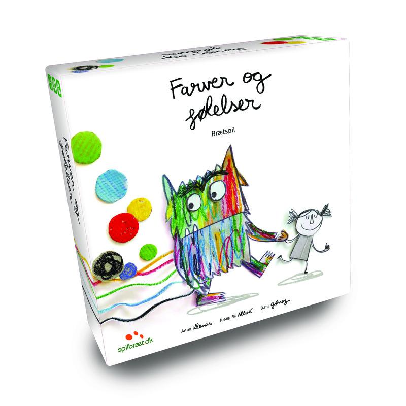 Image of   Farver og følelser