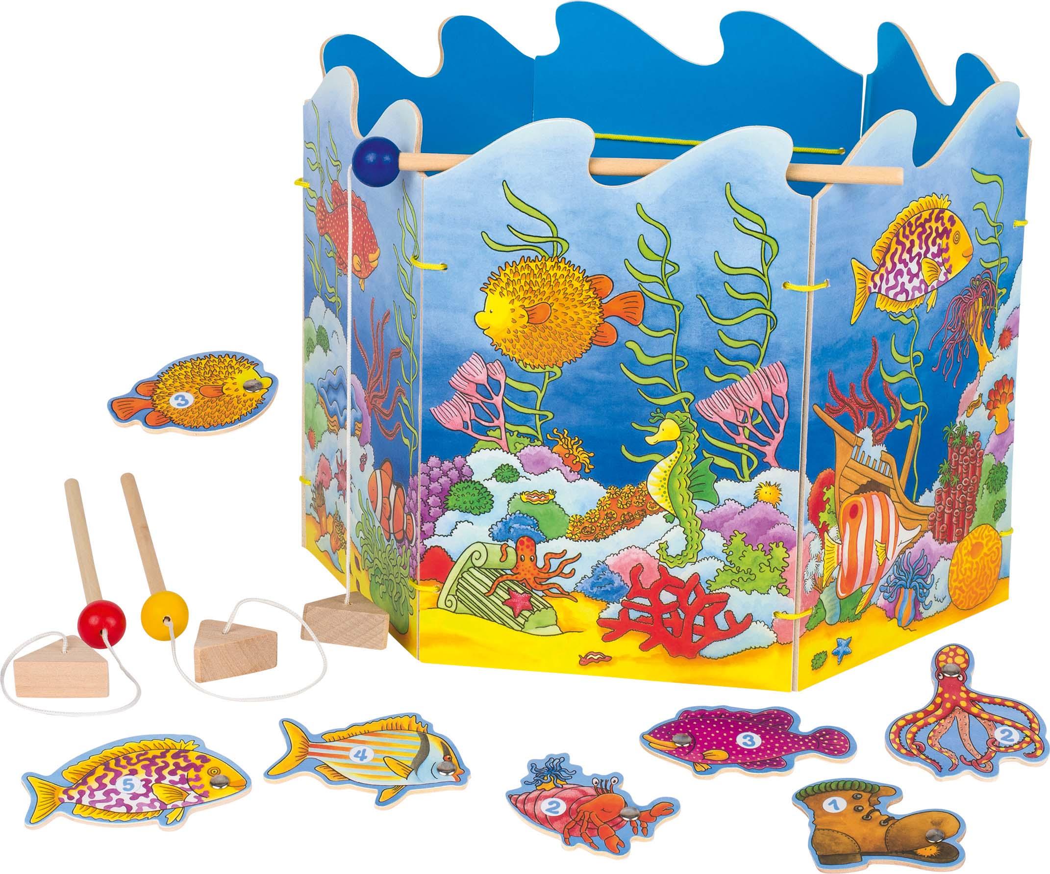 Image of   Fiskespil med magneter