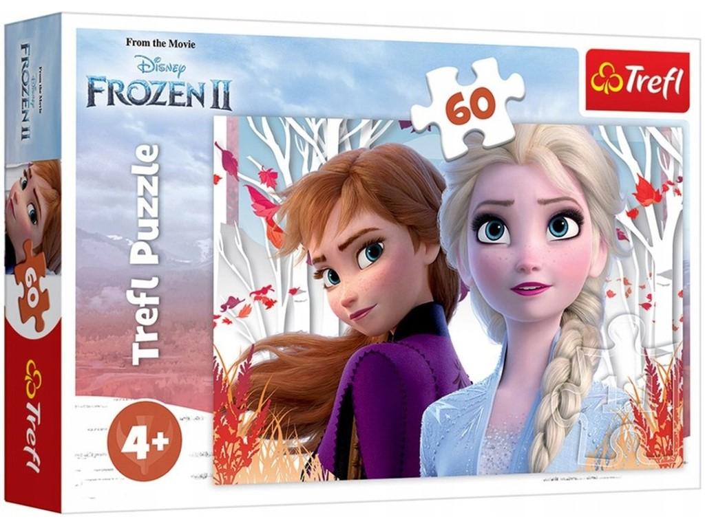 Frost 2 - Anna og Elsa, 60 brikker