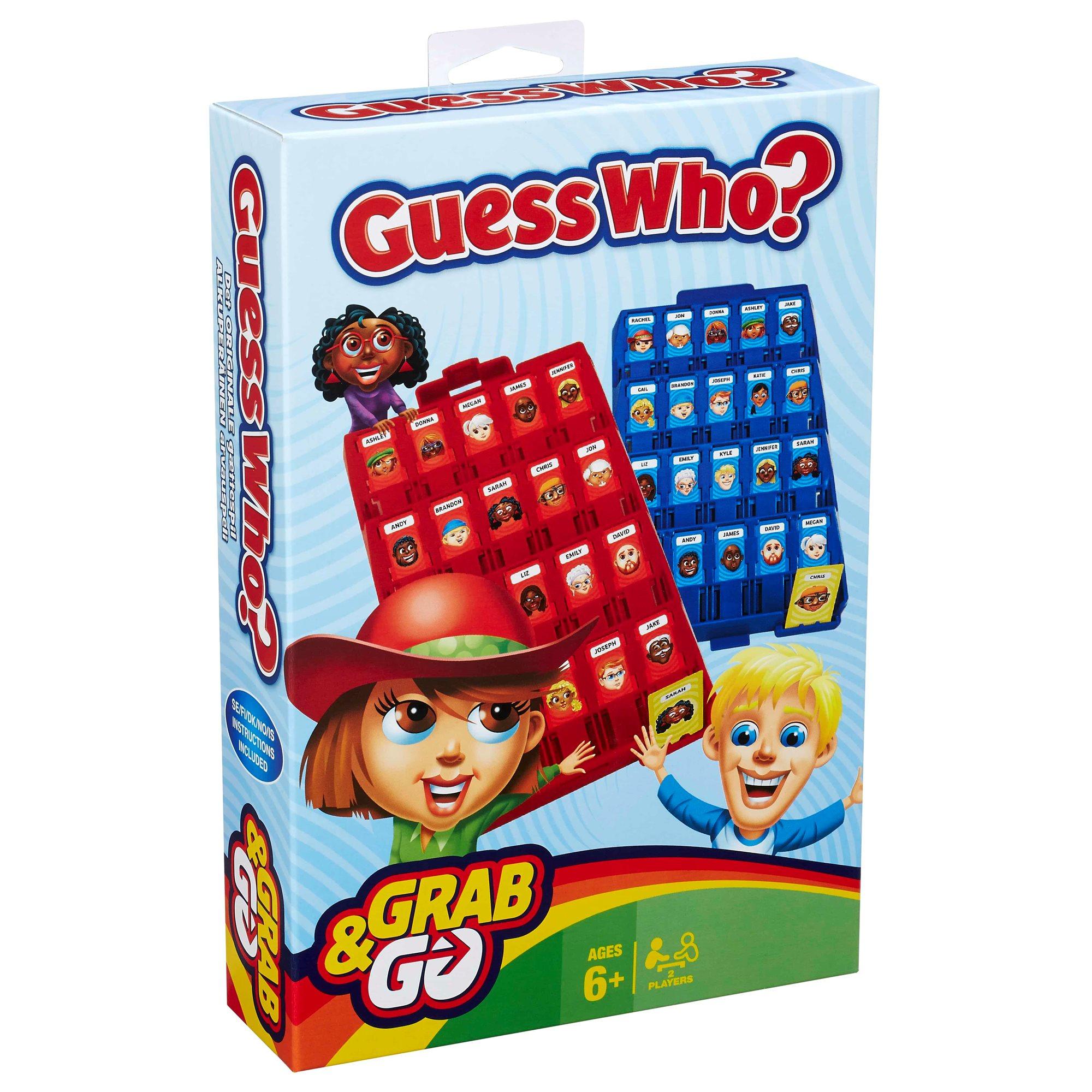 Guess Who? - hvem er hvem - rejseudgave