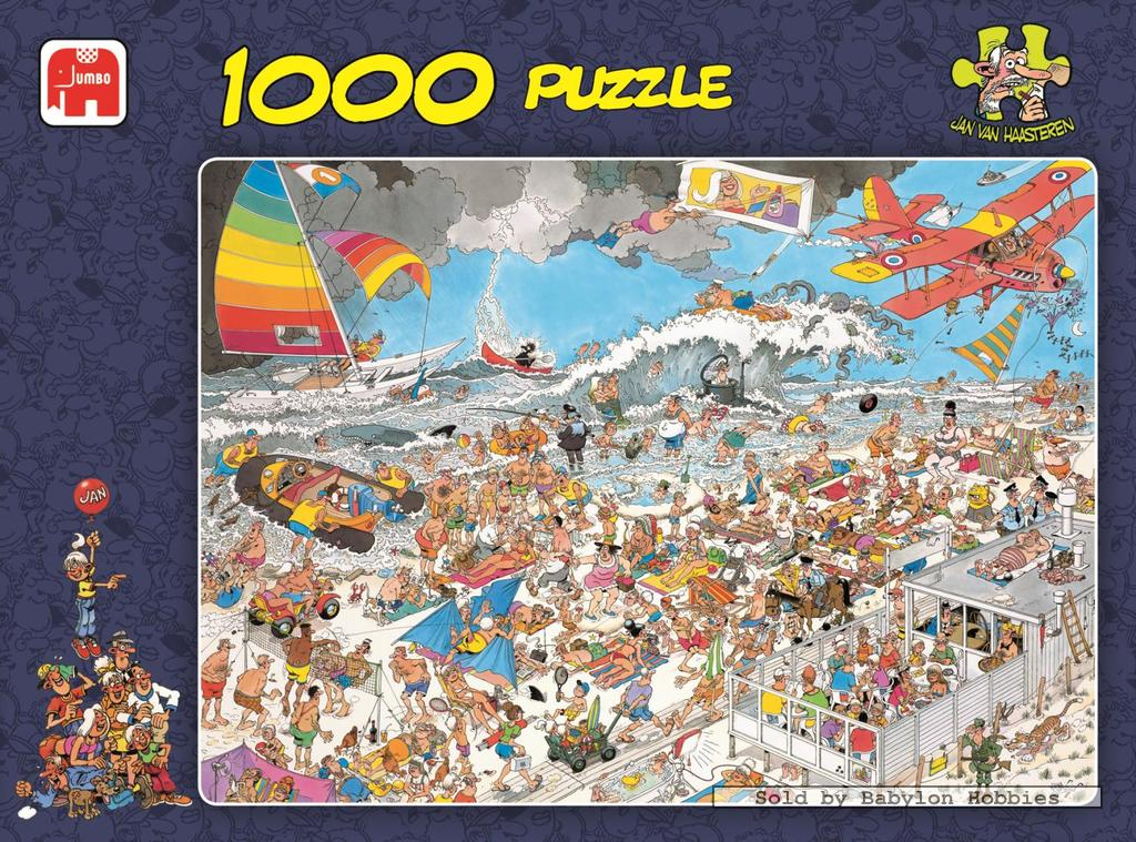 Image of   At the beach, 1000 brikker