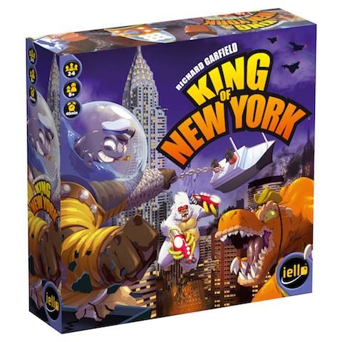 Image of   King of New York - dansk