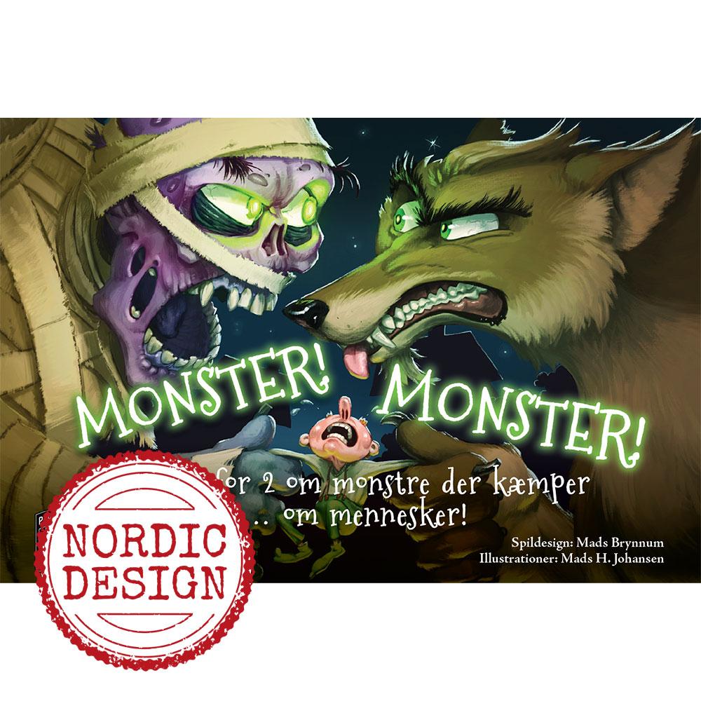 Monster! Monster! - Dansk