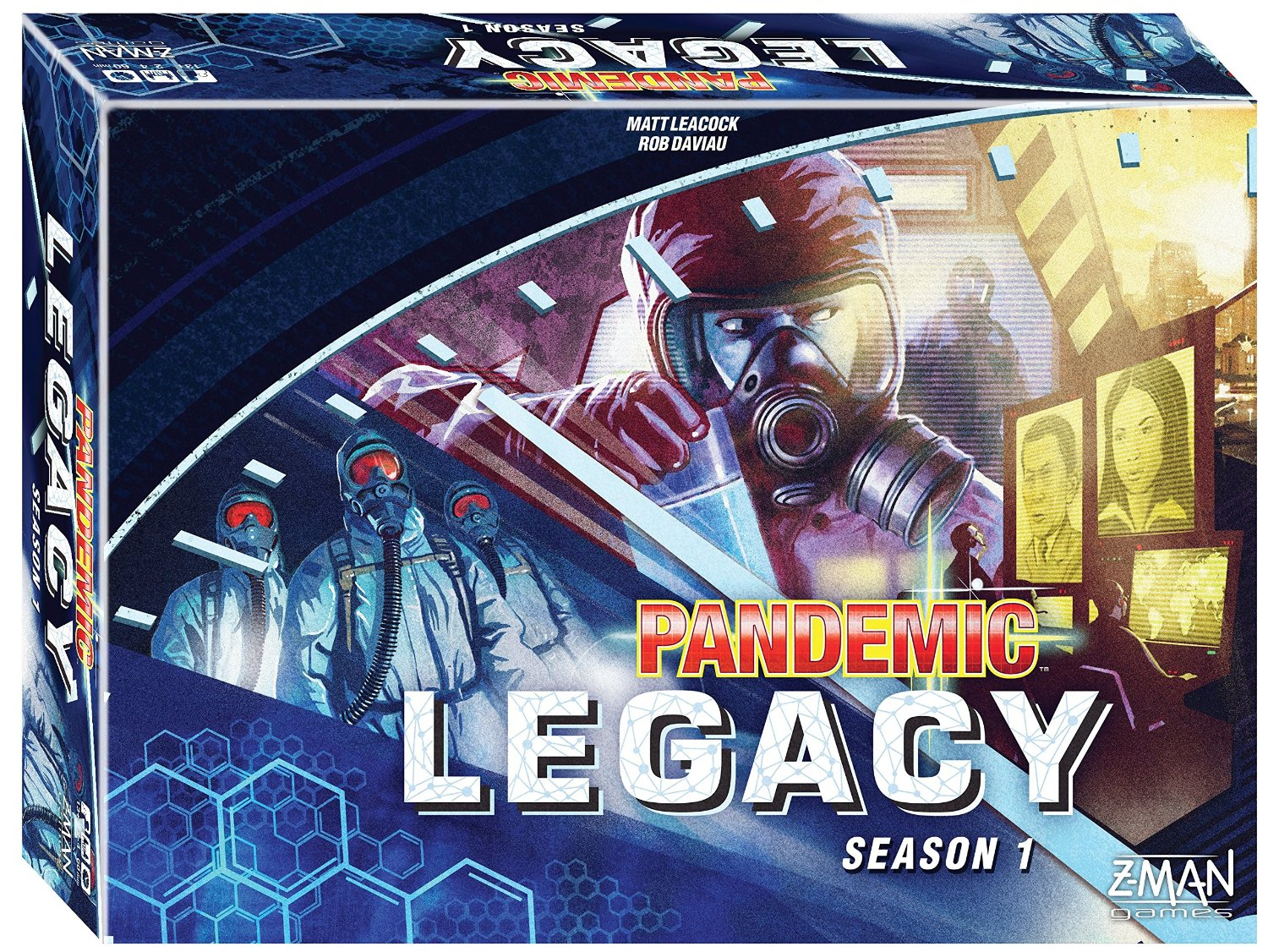 Image of   Pandemic Legacy - Season 1 BLUE
