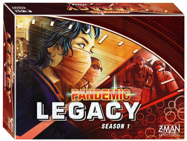 Image of   Pandemic Legacy - Season 1 RED
