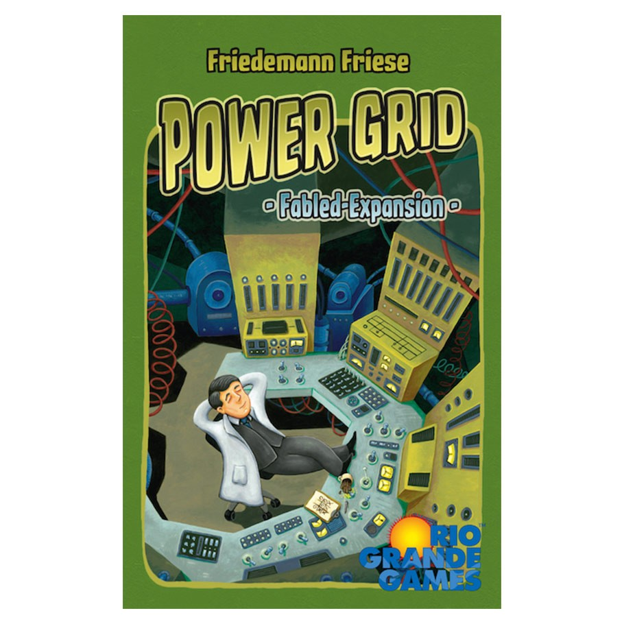 Image of   Power Grid: Fabled Expansion