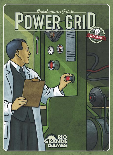 Image of   Power Grid Recharged - Engelsk
