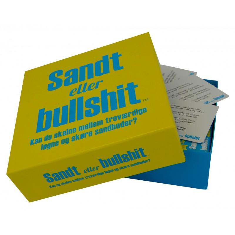 Image of   Sandt eller bullshit