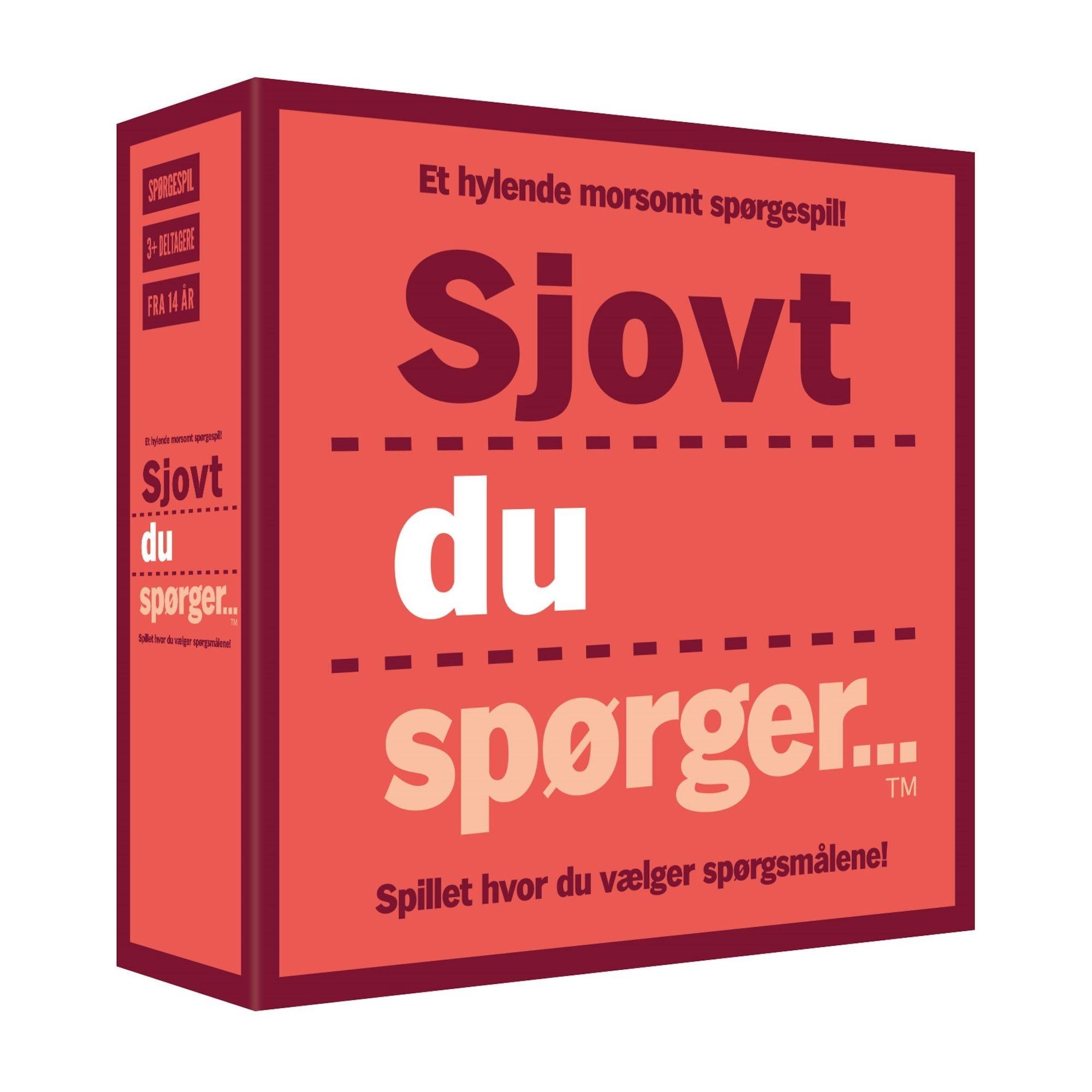 Image of   Sjovt du spørger...