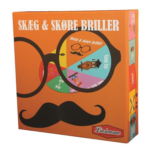 Image of   Skæg og skøre briller