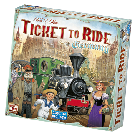 Image of   Ticket to Ride Germany