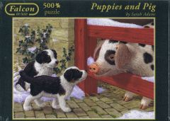 Puppies and Pig, 500 brikker (1)