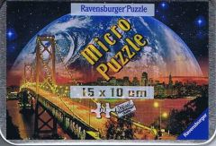 Glowing Planet over San Francisco, Micro puzzle (1)