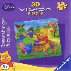 Winnie and his Honey, 3D, 80 brikker (1)