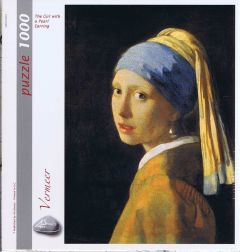 The girl with a Pearl Earring, 1000 brikker (1)