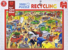 Recycling, 1000 brikker (1)