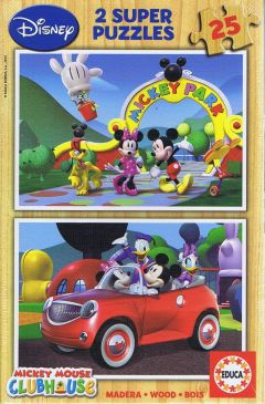 Mickey Mouse clubhouse, 2x25 brikker (1)