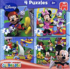 Mickey Mouse Clubhouse, 4 puslespil (1)
